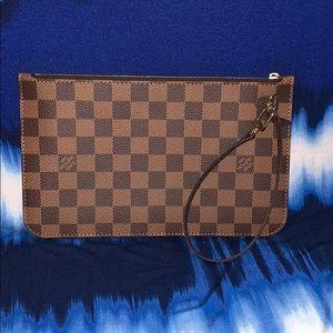 Louis Vuitton clutch/wristlet